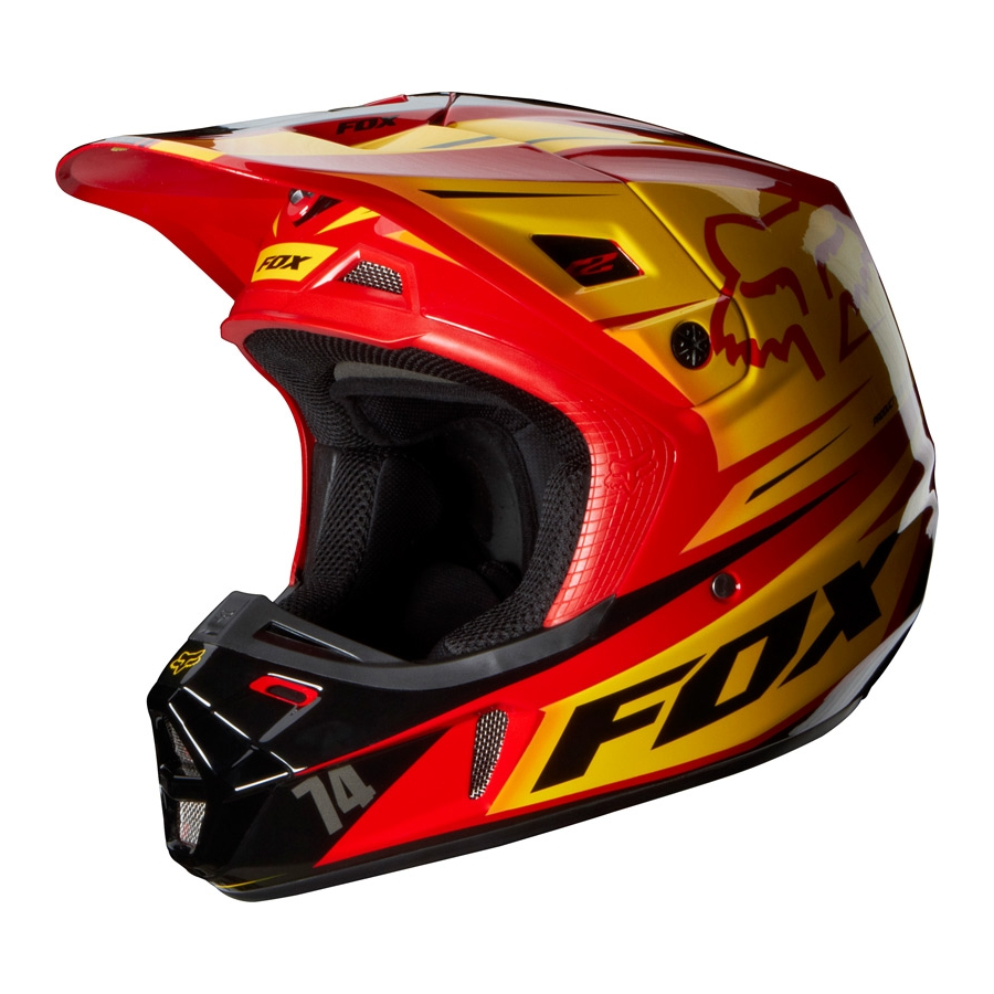 Fox Racing V1 Helmets  YouTube